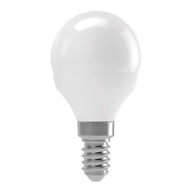 Emos LED žárovka MINI GLOBE, 6W/42W E14, WW teplá bílá, 500 lm, Basic A+