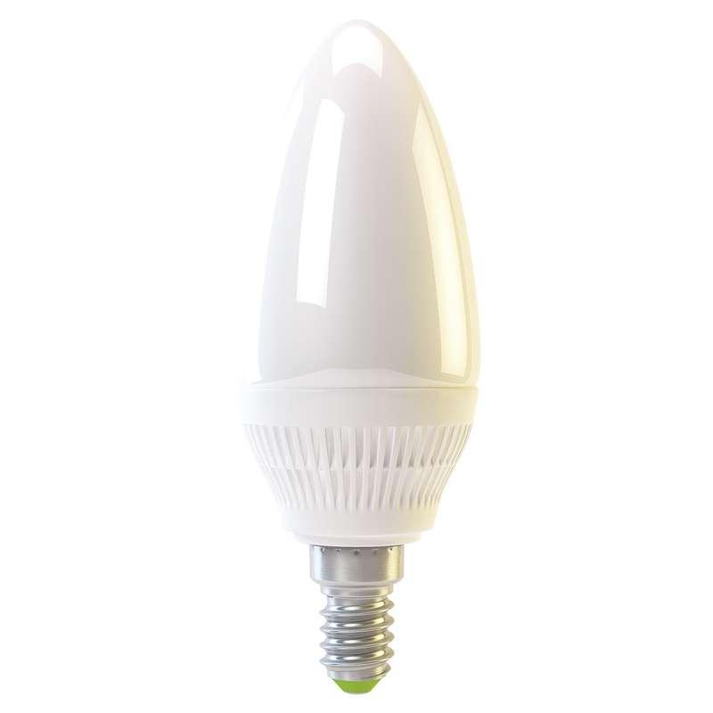 Emos LED žárovka CANDLE, 4W/30W E14, WW teplá bílá, 320 lm, Classic A+