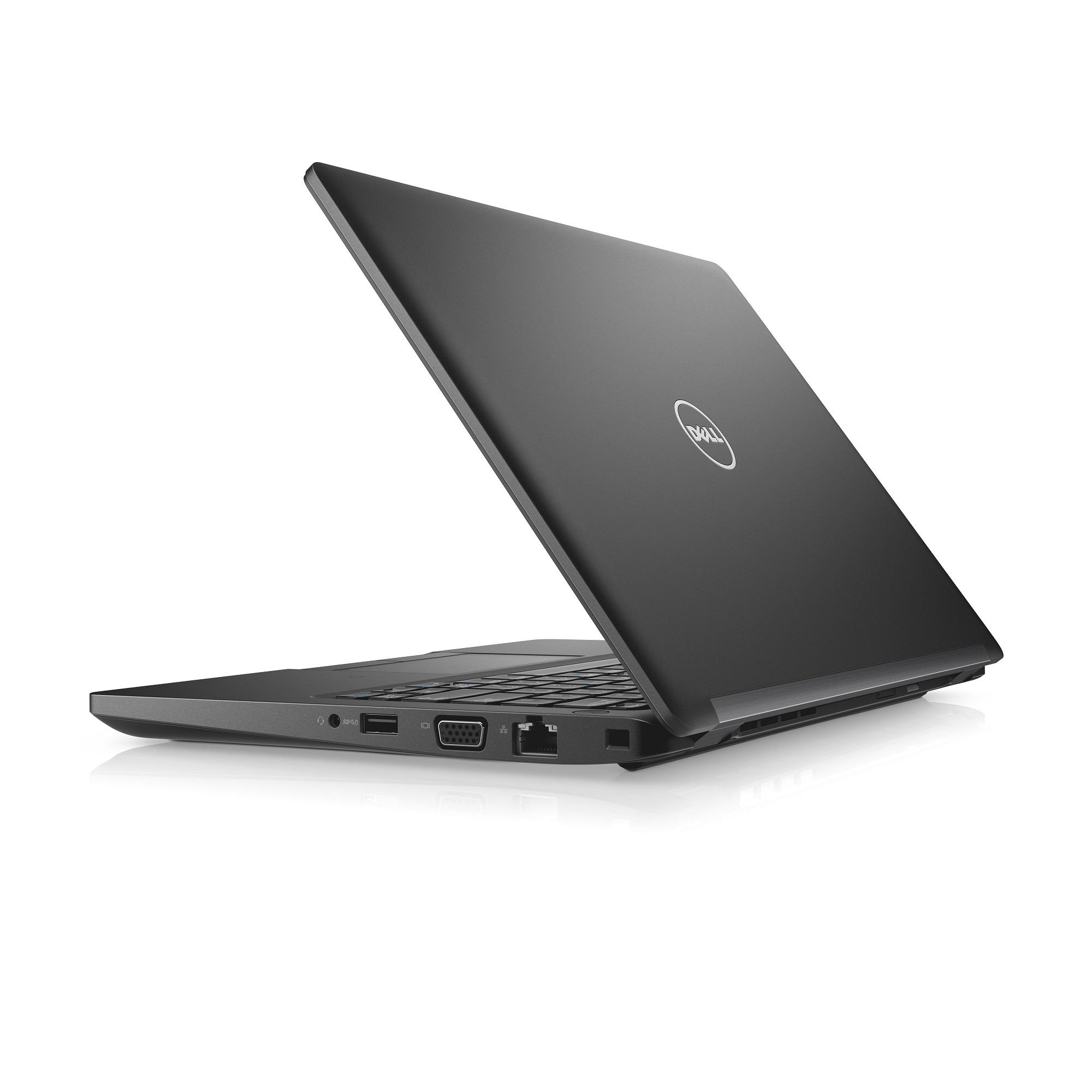 """Dell Latitude 5280 12"""" FHD i5-7300U/8G/256GB SSD/SCR/MCR/HDMI/VGA/W10P/3RNBD/Černý"""