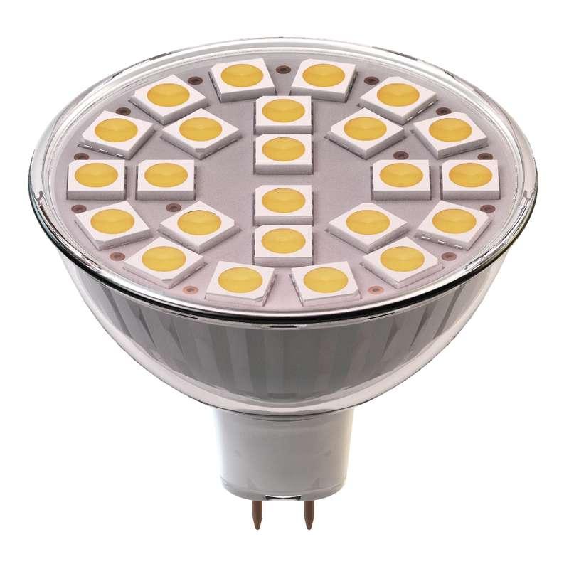 Emos LED žárovka MR16, 4W/30W GU5.3, WW teplá bílá, 320 lm, Classic A+