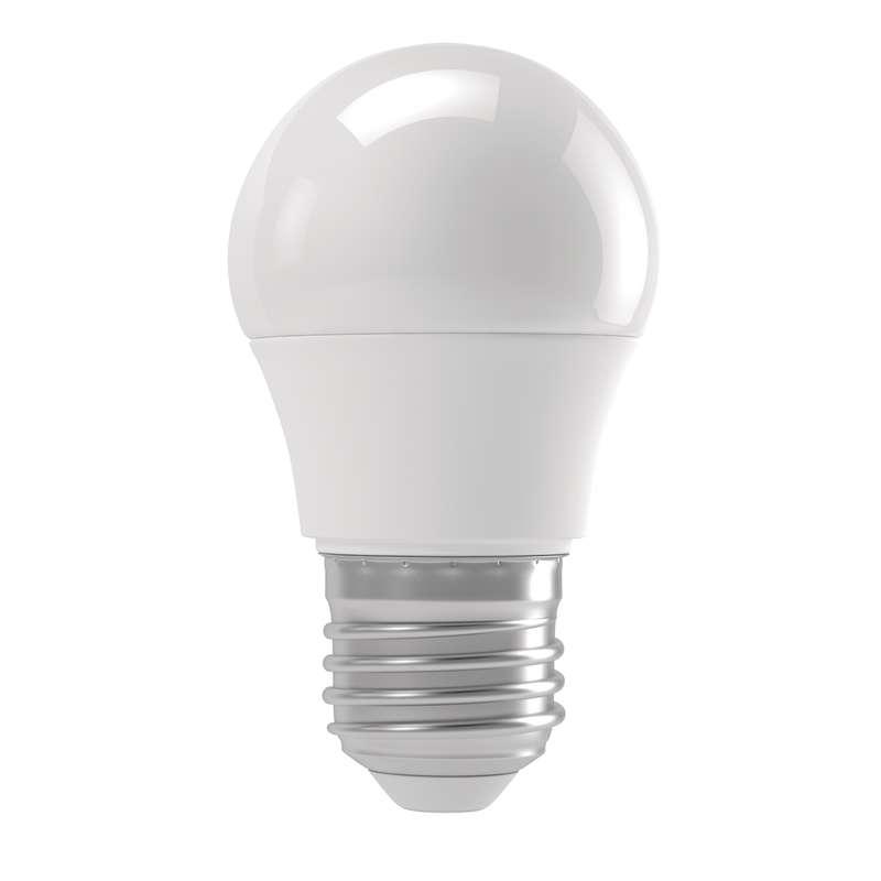 Emos LED žárovka MINI GLOBE, 6W/42W E27, WW teplá bílá, 500 lm, Basic A+