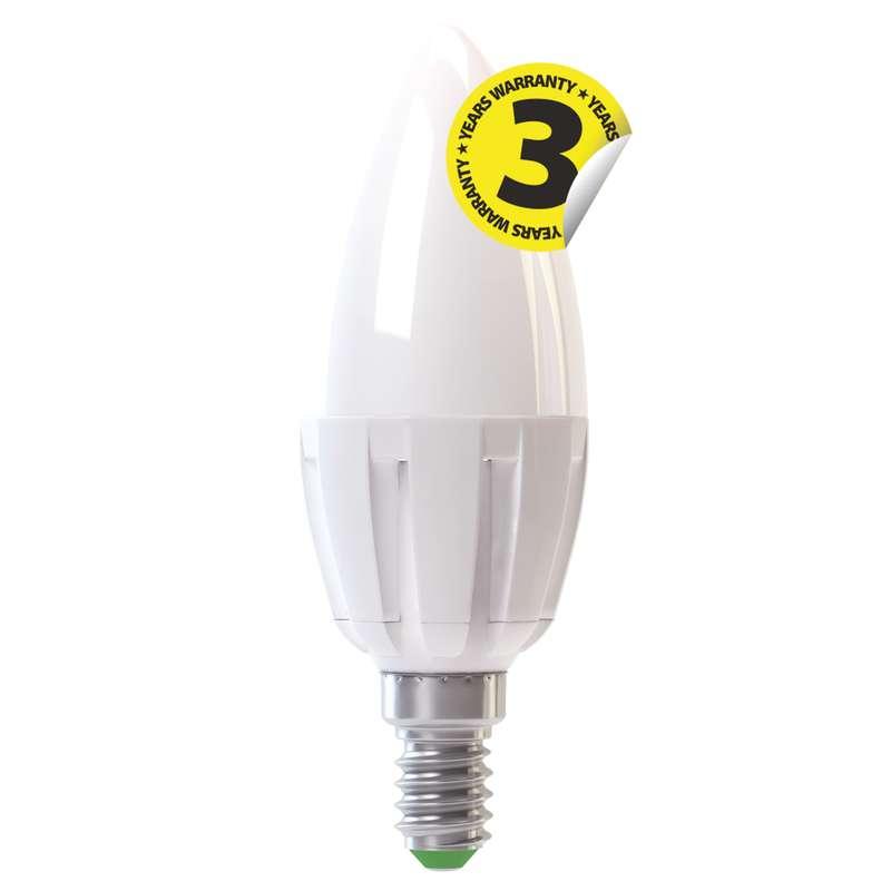Emos LED žárovka X-Line CANDLE 6W/35W E14, WW teplá bílá, 400 lm