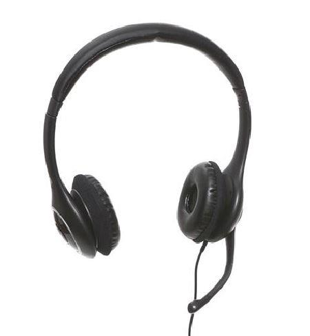 Sandberg sluchátka s mikrofonem Plug'n Talk, 3.5mm MiniJack, 1.75m, černá