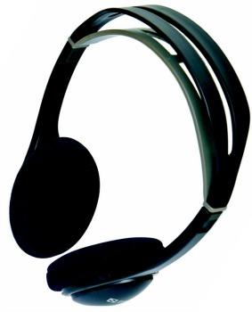 Sandberg sluchátka One, 2m, černá