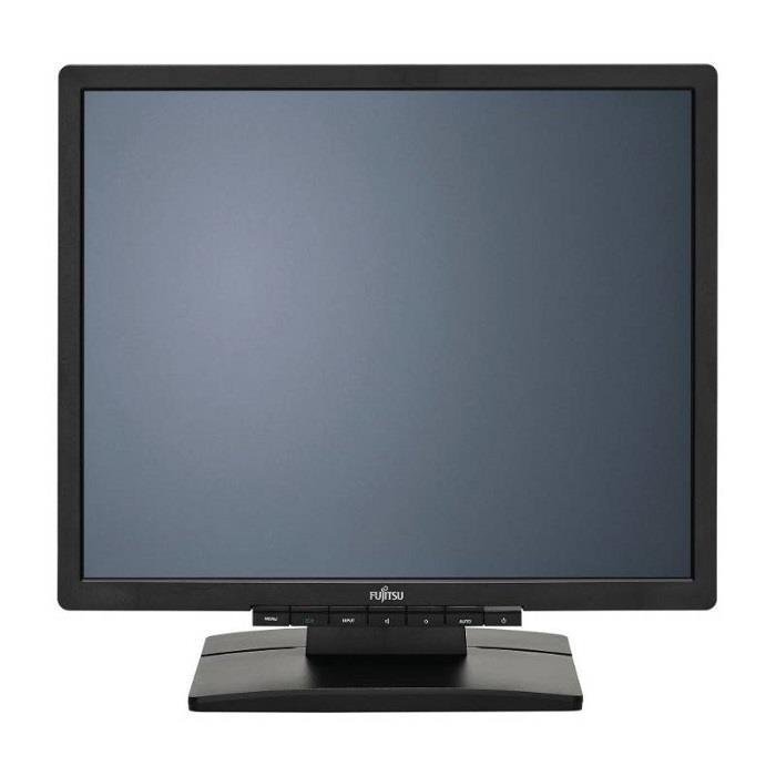 """FUJITSU MT E19-7 LED IPS, 19"""" matný, 1280x1024, 250cd, 8ms, repro, D-sub, DVI, VESA 10x10cm, černý"""