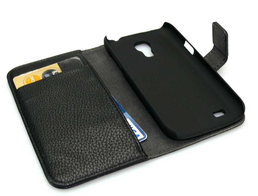 Sandberg kryt na mobil Samsung Galaxy S4 Mini, tvar peněženky, černý