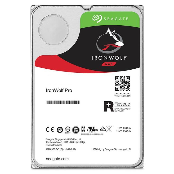 Seagate IronWolfPro HDD 3.5'' 2TB SATA3 7200RPM 128MB