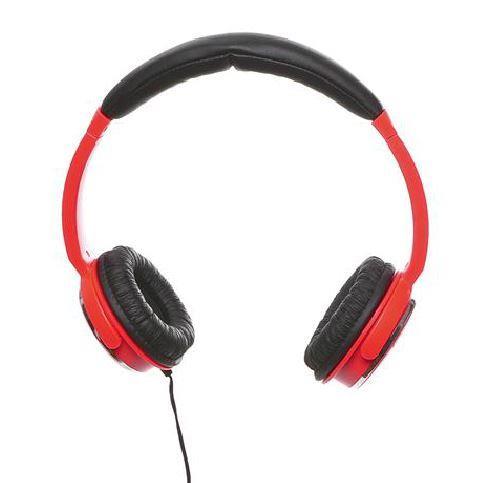 Sandberg sluchátka Home'n Street, mikrofon, 3.5mm MiniJack, 1.8m, červená