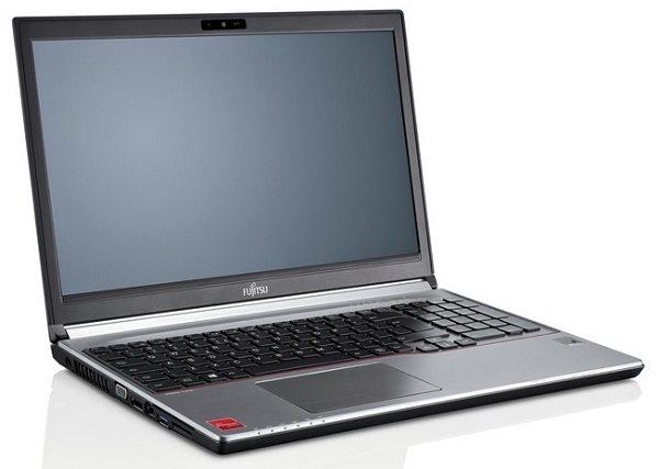 """Fujitsu LIFEBOOK E756 non-vPro i5-6200U/4GB/256GB SSD/DRW/Mobile Intel® HD520/15.6"""" FHD/FP/TPM/SC/W10Pro+W7Pro"""