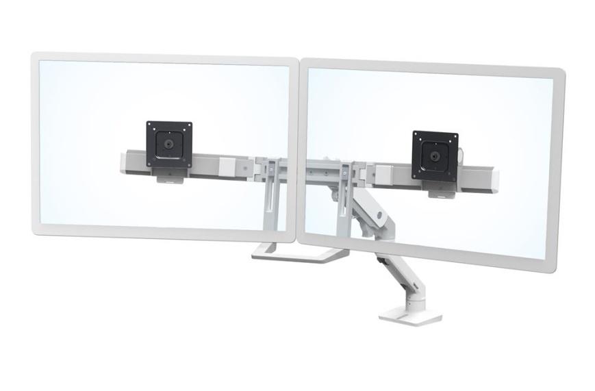 """ERGOTRON HX Desk Dual Monitor Arm, stolní rameno pro 2 monitry až 32"""", bílé"""