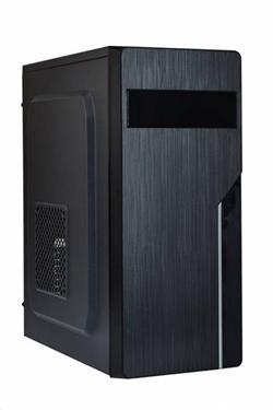 Eurocase ML X402, ATX, bez zdroje, 2xUSB, černá