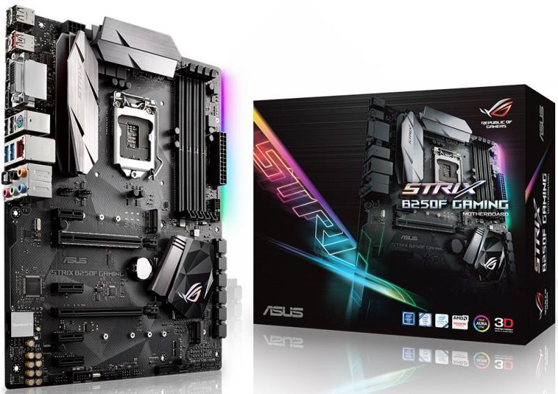 ASUS STRIX B250F GAMING, LGA1151, B250, USB3.1, M.2, ATX, USB 3.1