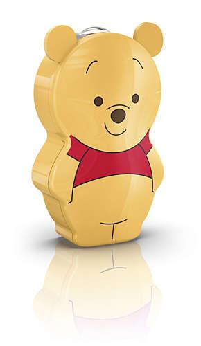 PHILIPS Flash Light Winnie The Pooh Yellow