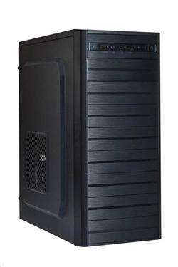 Eurocase ML X403, ATX, bez zdroje, 2xUSB, černá