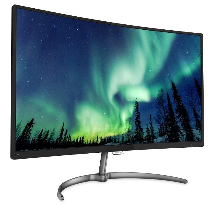 Monitor Philips 278E8QJAB/00 27'', panel-VA; HDMI, DP, D-Sub; reproduktory