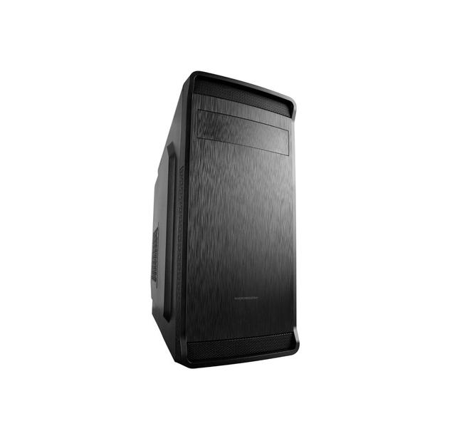 Modecom PC skříň FOBOS MIDI, 1x USB 3.0, 2x USB 2.0, audio HD, čtečka SD karet, černá, bez zdroje