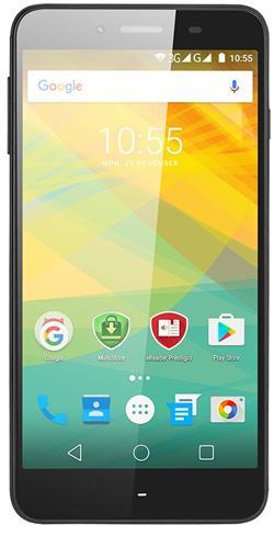 "PRESTIGIO Grace Z3, 5.3"" HD IPS, Dual SIM, Android 6.0, Quad Core 1,3GHz, 1280*720, 8GB ROM,1GB RAM, 8Mpx, černý"