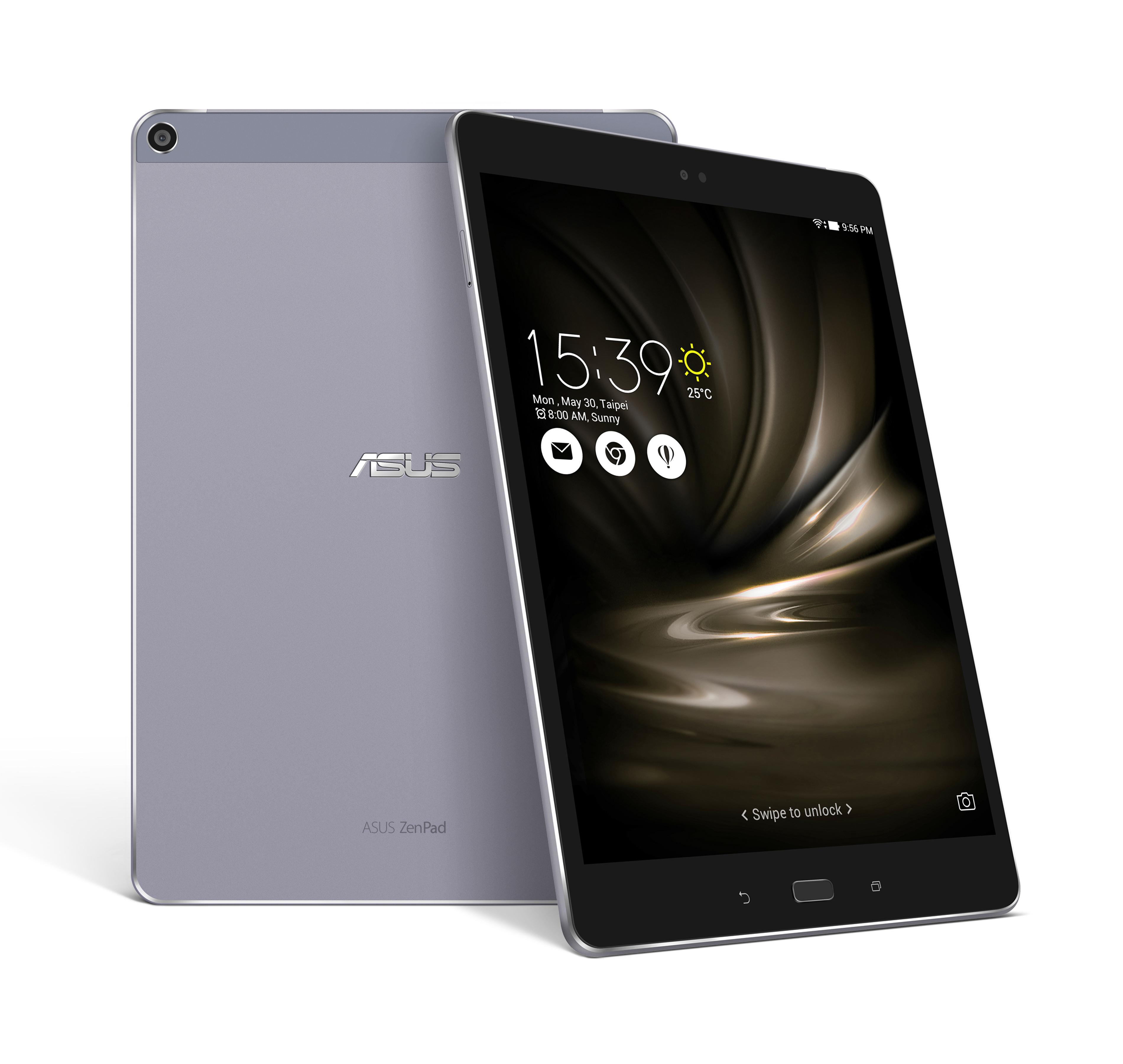 "Asus ZenPad 10 MSM 8956/9,7"" IPS 2048x1536/4GB/64GB/LTE/Android M/šedý"