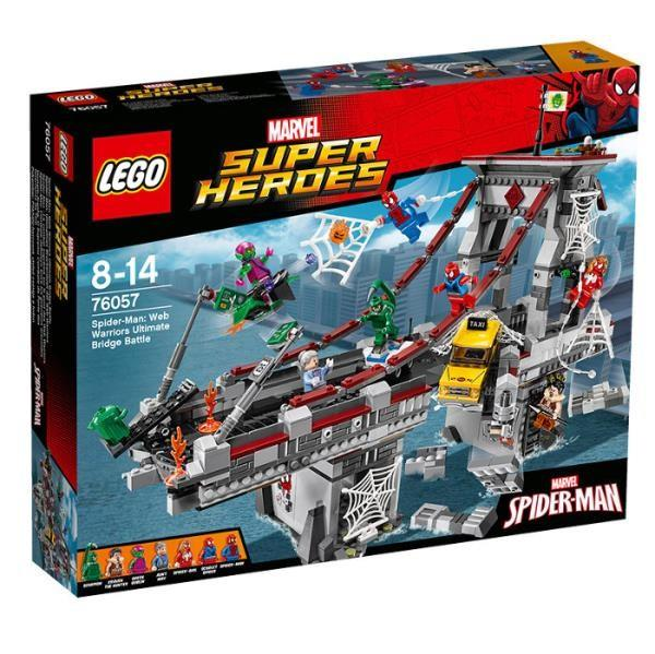 LEGO SUPER HEROES 76057 Spiderman: Web Warriors Ultimate Bridge Battle
