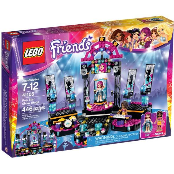 LEGO Friends Popstar's Stage