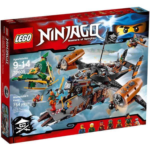 LEGO Ninjago Misfortune Fortress