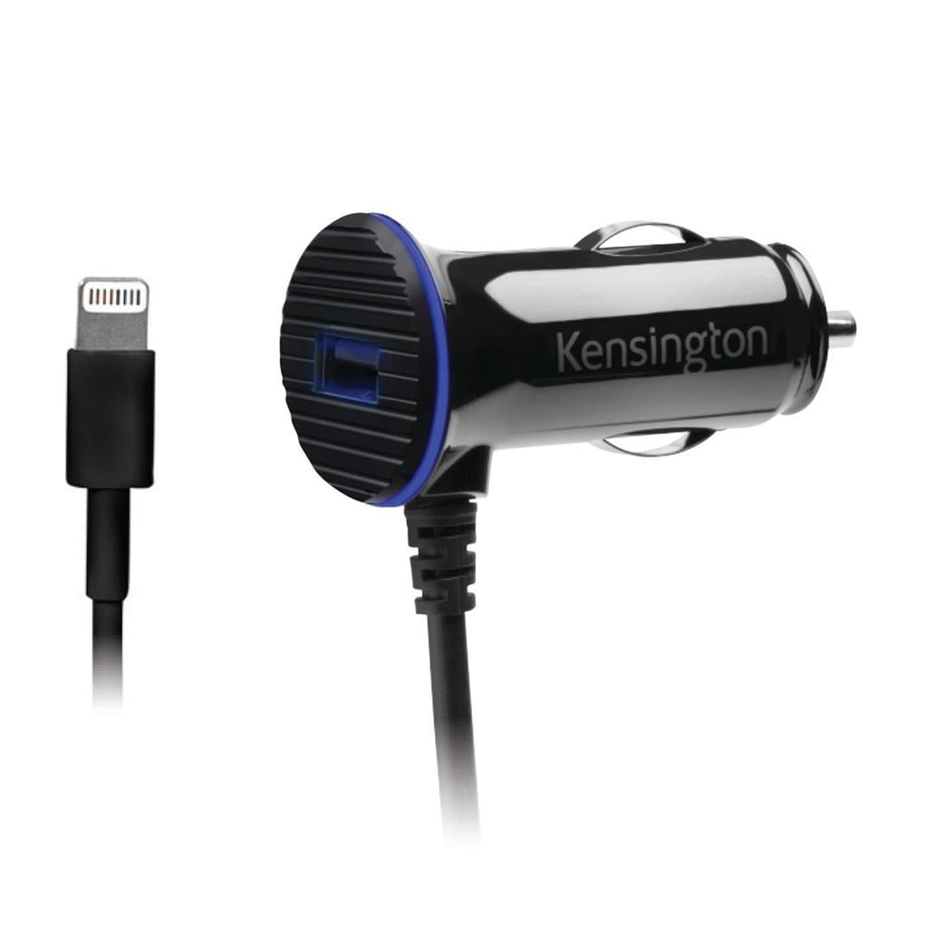 Kensington dvouportová rychlonabíječka do auta PowerBolt™ 3.4