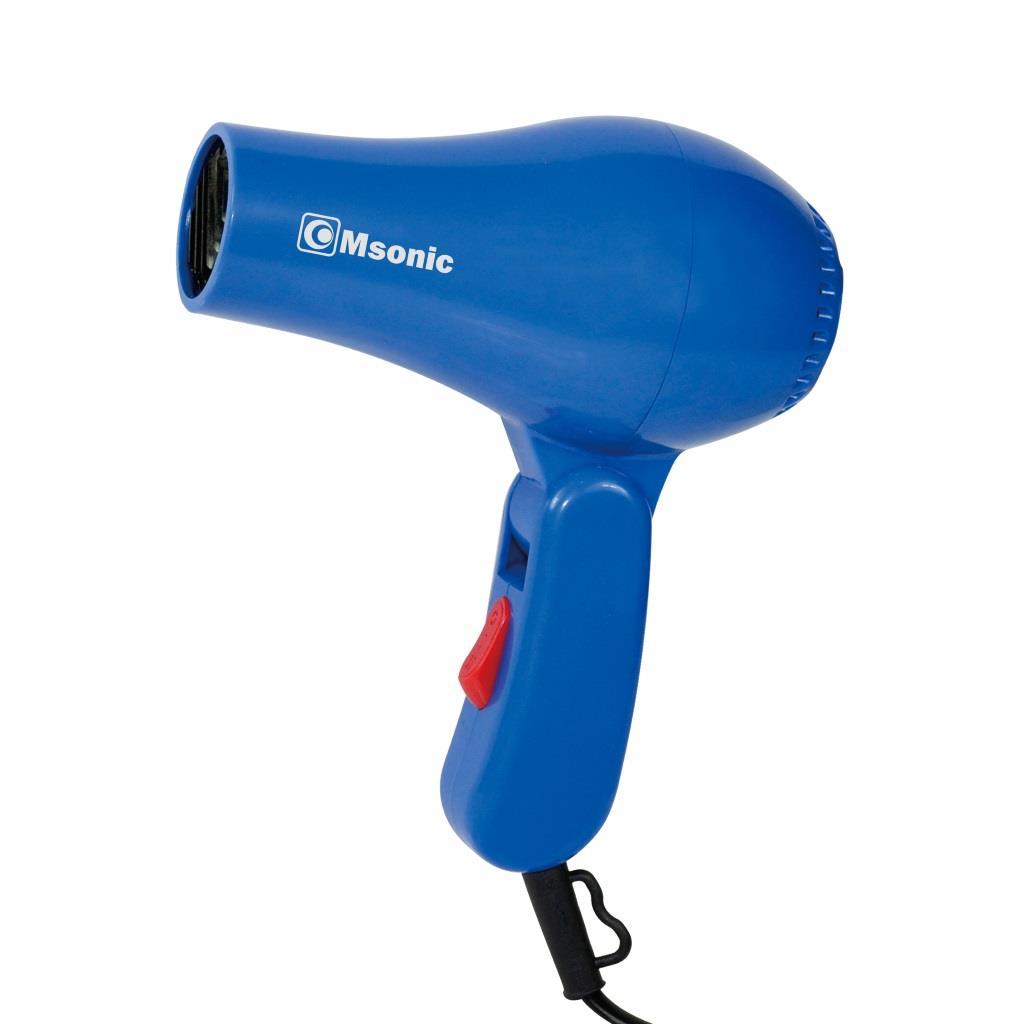 Msonic cestovní vysoušeč vlasů MHR2630B | 800W, sklopná rukojeť, černý