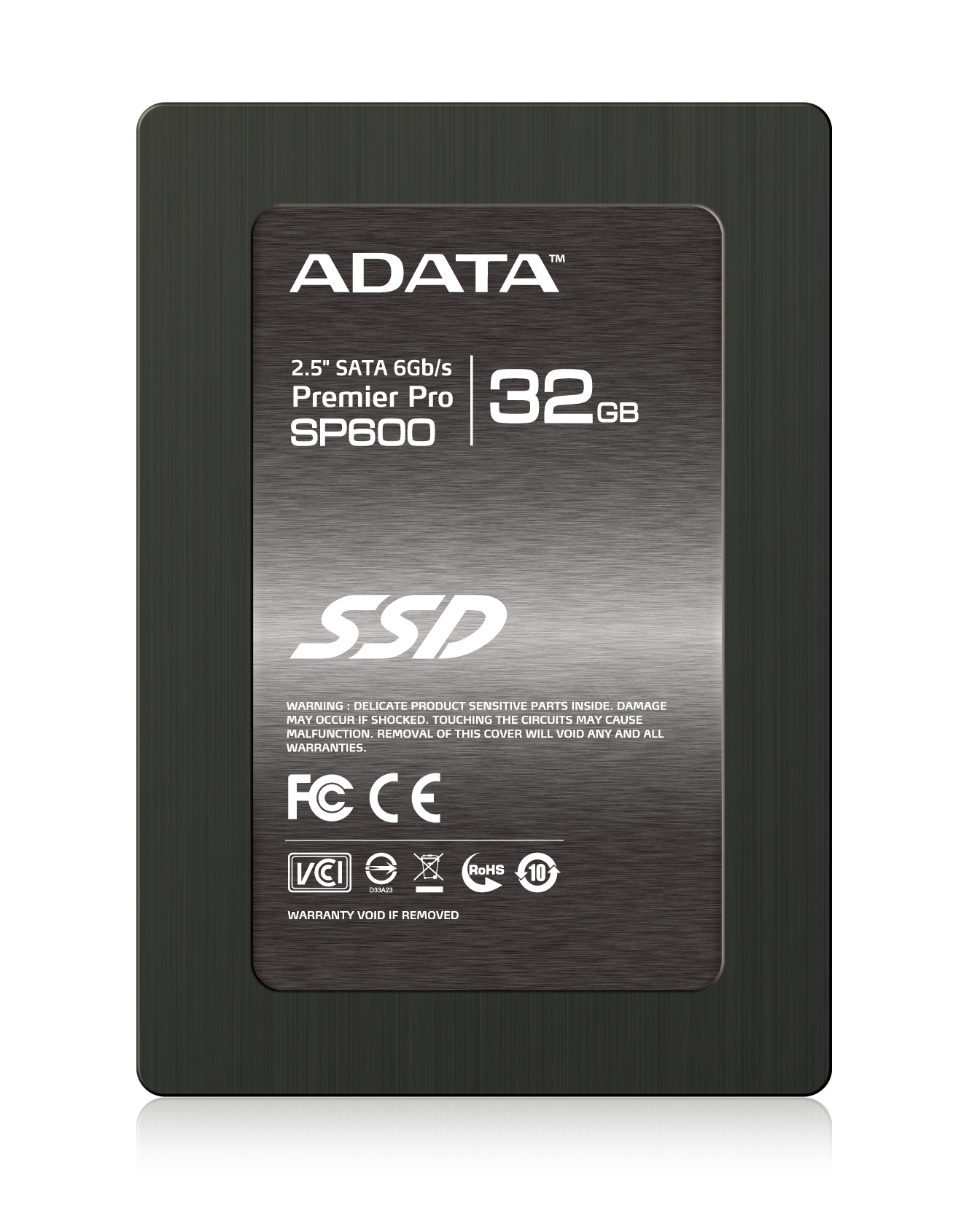 """ADATA SSD SP600 32GB 2.5"""" SATA III 220/37MB/s"""