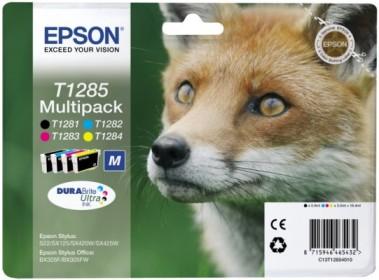 Inkoust Epson T1285 Multi Pack | Stylus S22/SX125/SX425W/BX305F