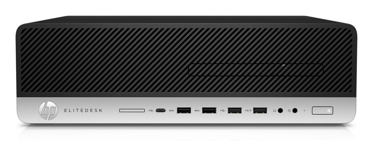 HP EliteDesk 800G3 SFF i5-7500, 1x4GB, HDD 500GB, Intel HD, usb slim kláv. a myš, DVDRW, 180W platinum, Win10Pro