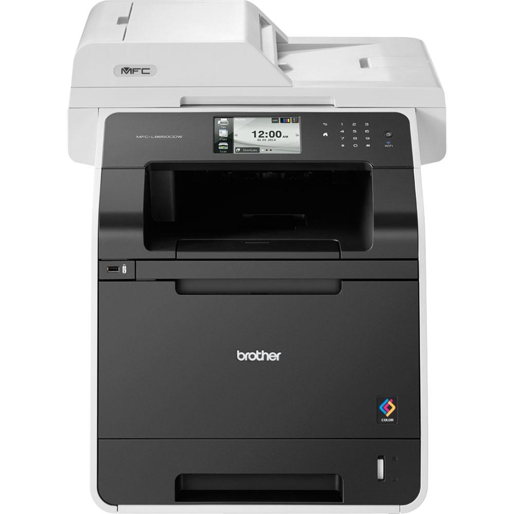 Brother MFC-L8650CDW col.laser(28/28 str.tisk.PCL6,ADF, fax, plný duplex.tisk )Ether.+Wifi
