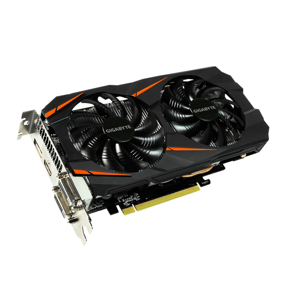 GIGABYTE VGA NVIDIA GTX 1060 6GB GDDR5 (Windforce)