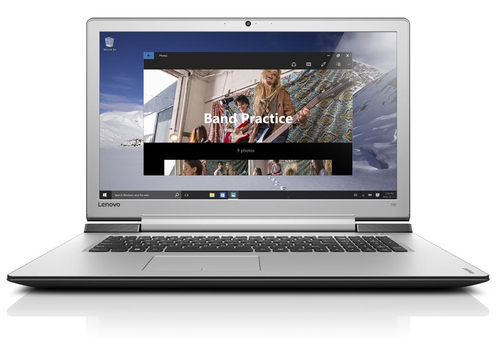 "Lenovo IdeaPad 700-17ISK i5-6300HQ 3,20GHz/8GB/1TB/17,3"" FHD/IPS/AG/GeForce 4GB/WIN10 černá 80RV006KCK"