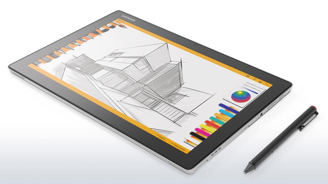 "Lenovo Tablet MiiX 510 i7-6500U 3,10GHz/8GB/512GB SSD/12,2"" FHD IPS/multitouch/KBRD/LTE/WIN10 PRO stříbrná 80U1005MCK"