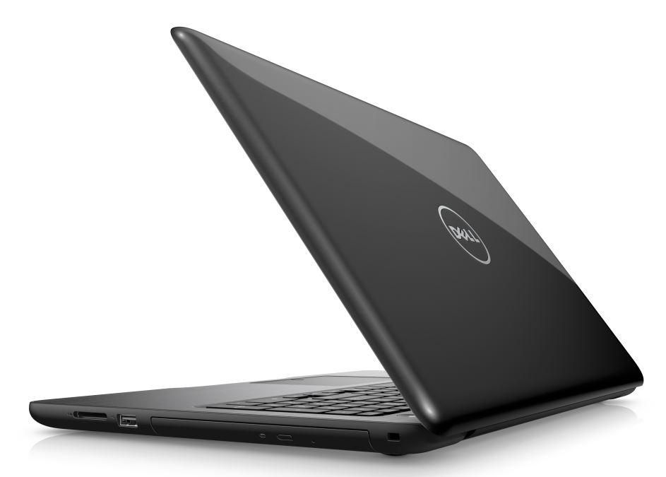 "Dell Inspiron 5567 15"" FHD i7-7500U/16G/256GB SSD/M445-4G/MCR/HDMI/USB/RJ45/DVD/W10/2RNBD/Černý"
