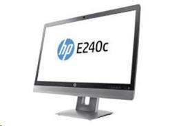 "HP EliteDisplay E240c, 24"" IPS/LED, 1920x1080 FHD, 1000:1, 7ms, 250cd, VGA/DP/HDMI, USB - poskozeny obal (produkt 100%)"