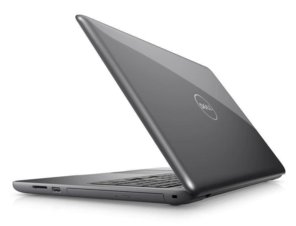 "Dell Inspiron 5567 15"" FHD i7-7500U/16G/256GB SSD/M445-4G/MCR/HDMI/USB/RJ45/DVD/W10/2RNBD/Šedý"