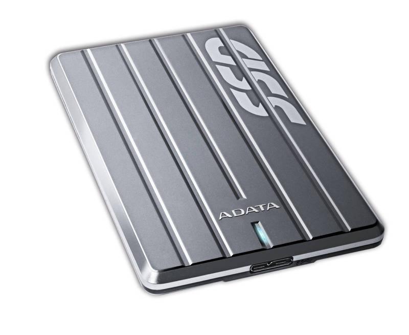 ADATA externí SSD ASC660 480GB USB 3.0 titanový