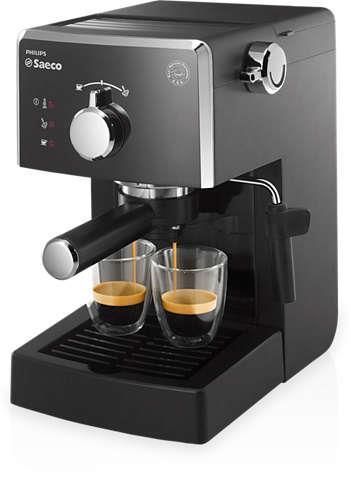 Kávovar Saeco HD8423/19 Poemia | černý