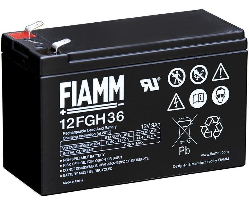 Fiamm olověná baterie 12 FGH 36 12V/9Ah