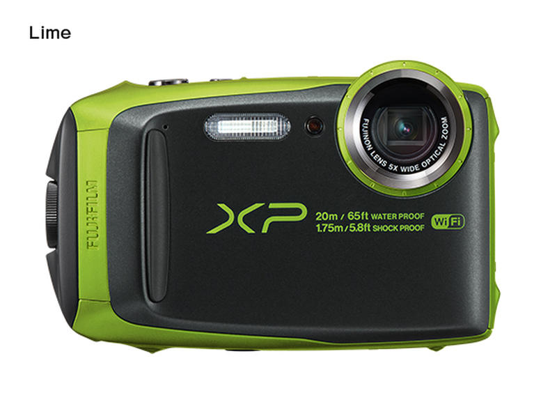 Fujifilm FinePix XP120 - 16,4 MP, 5x zoom - Lime