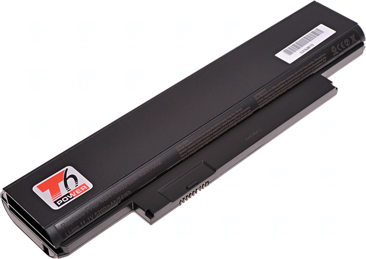 Baterie T6 power Lenovo ThinkPad Edge E130, E135, E330, E335, 6cell, 5200mAh