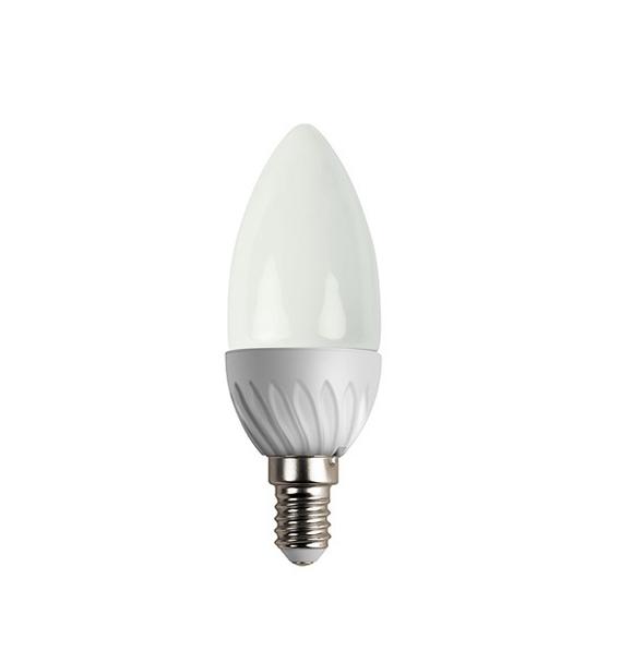 ACME LED úsporná žárovka, svíčka, E14, 245lm, 3W, 3000K, teplá bílá