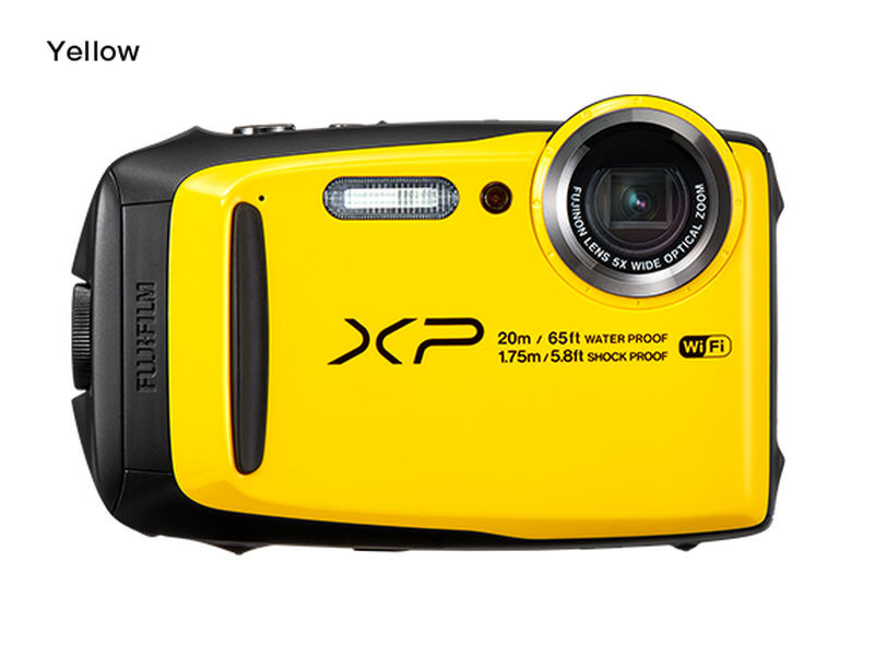Fujifilm FinePix XP120 - 16,4 MP, 5x zoom - Yellow