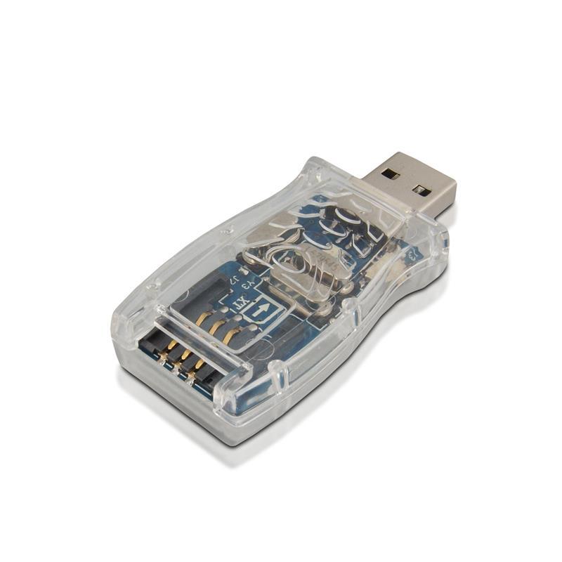 4World čtečka flash karet a karet SIM, USB 2.0