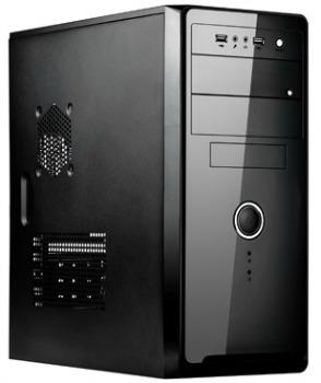 SPIRE skříň SP1072B, 420W, Midi Tower, black