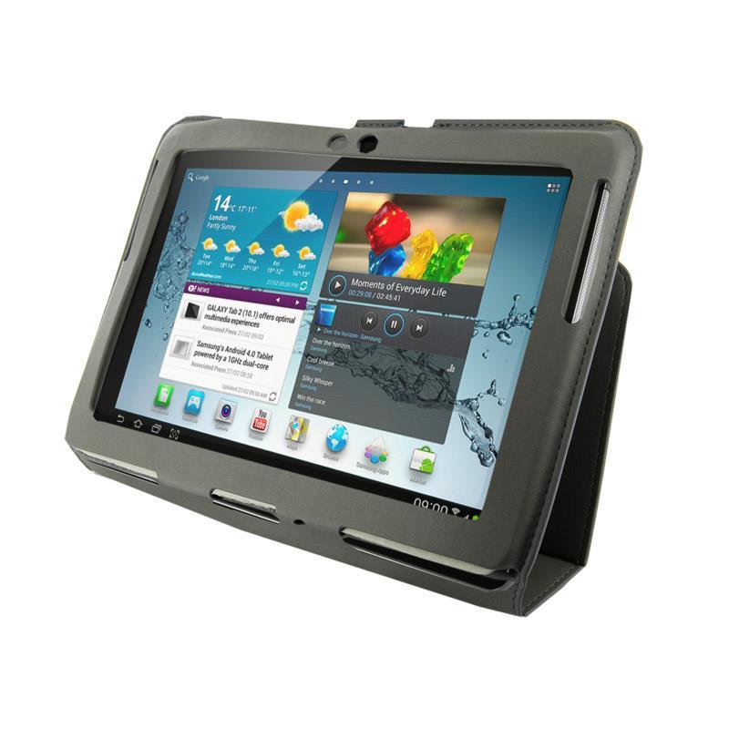 4World Pouzdro - stojan pro Galaxy Tab 2, Ultra Slim, 10'', Šedá