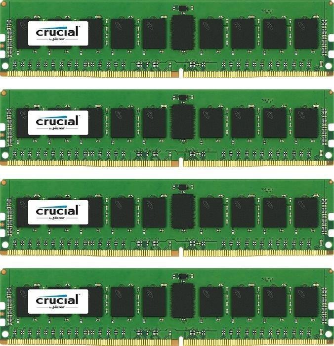 Crucial 4x8GB 2400MHz DDR4 CL17 DR x8 ECC Registered DIMM 288pin