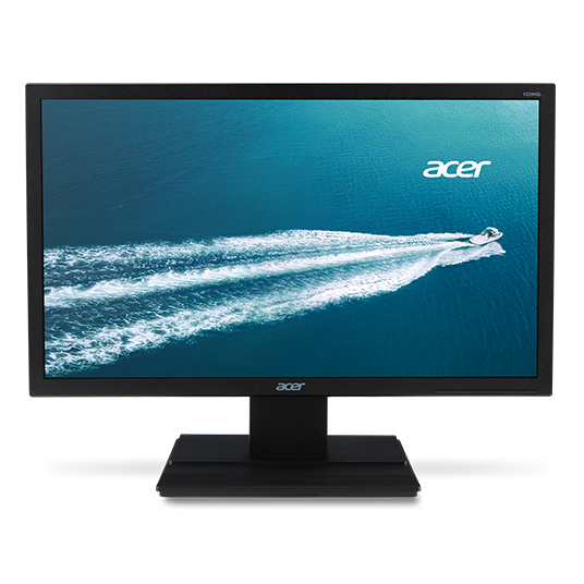 "Acer LCD V246HQLAbd, 60cm (23,6"") IPS LED/1920x1080, 100M:1/6 ms/TCO 6.0/ DVI /Black"