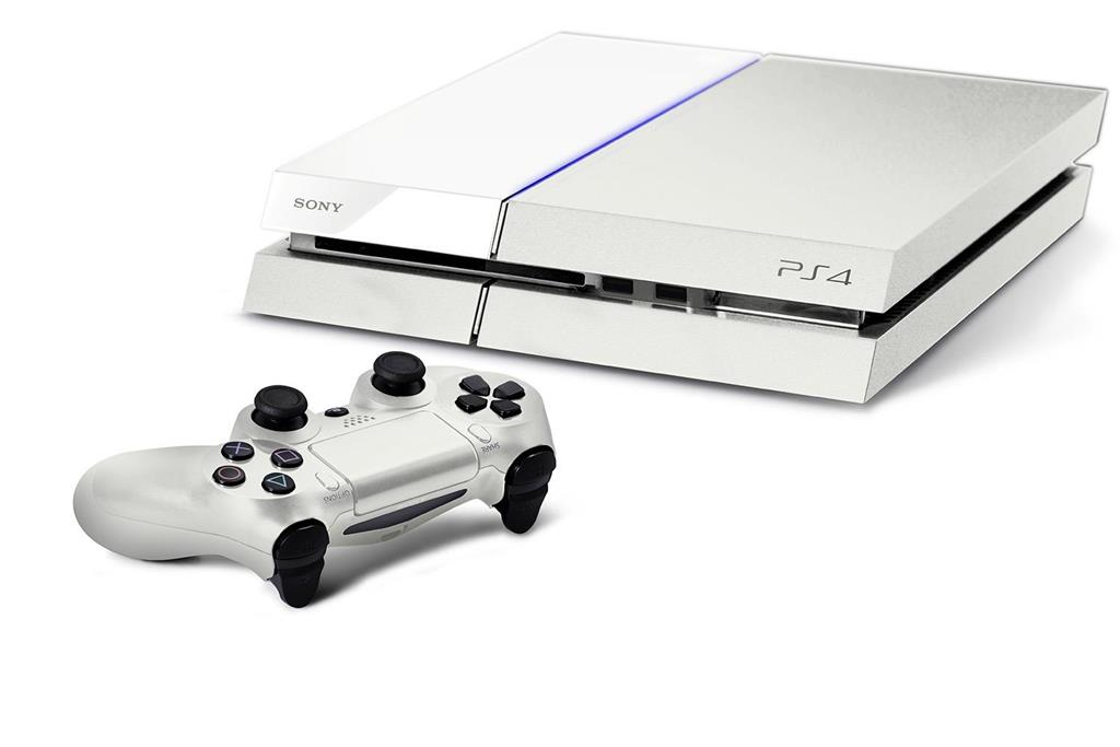 PS4 500GB D Chassis White/EAS SLIM